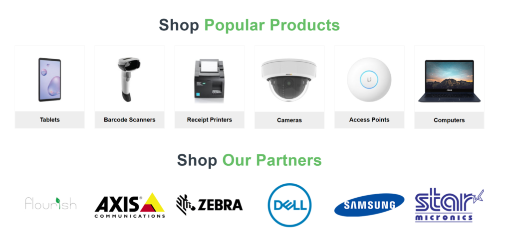 cure8 cannabis it product store homepage