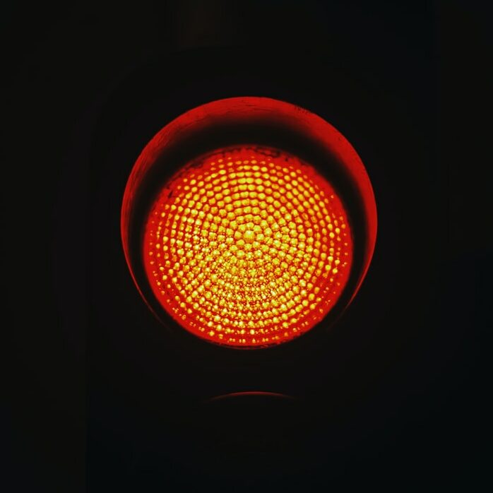 stop sign representing an IT outage
