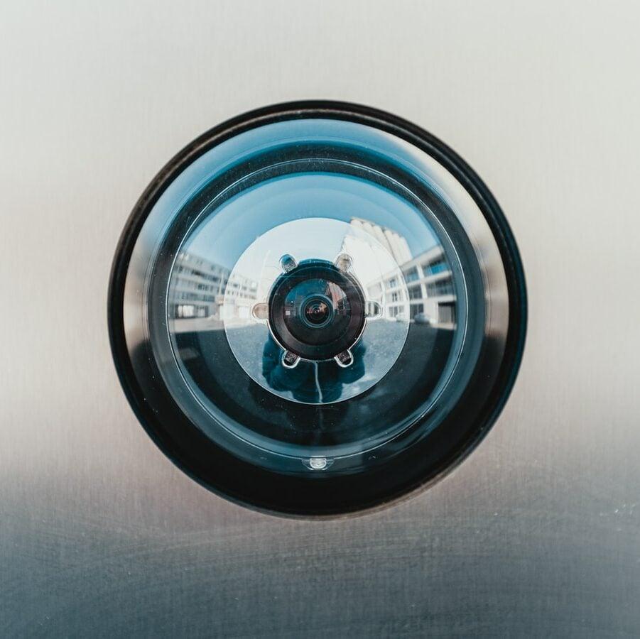 cannabis business security camera lens